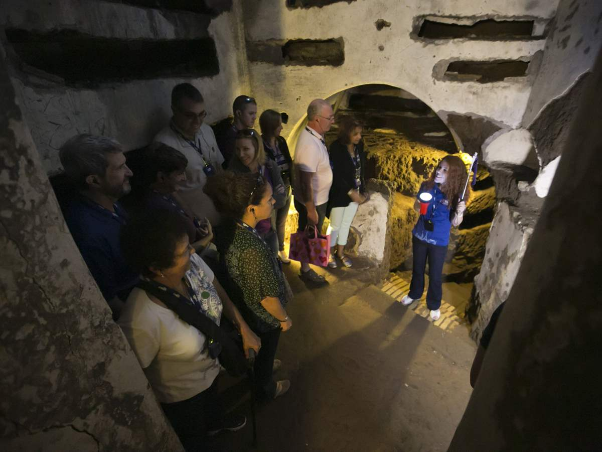 Private Crypts and Catacombs Tour