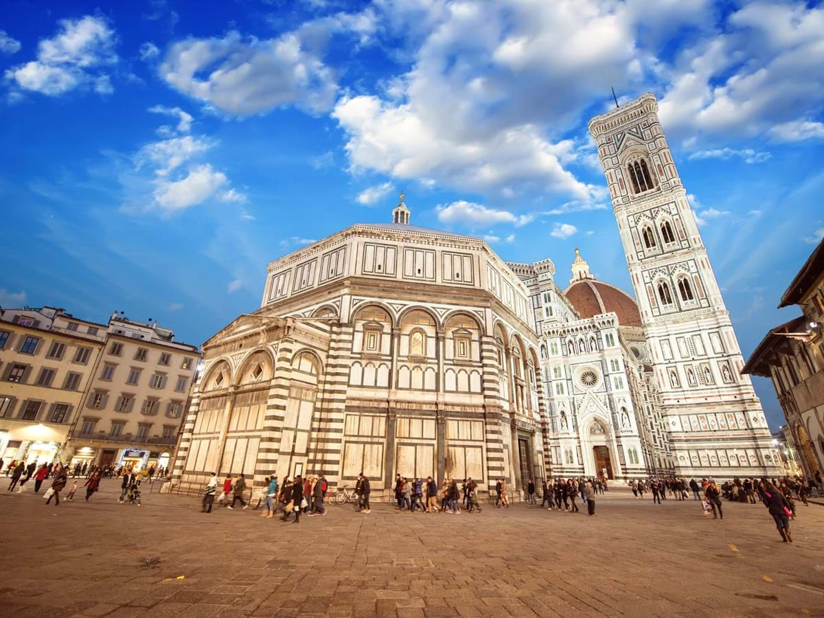 Italian Florence: Florence Walking Tour With Duomo, David