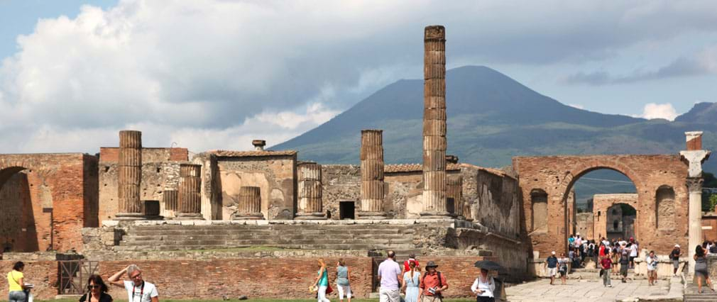Pompeii Full Day Trip from Rome with Mt. Vesuvius Volcano