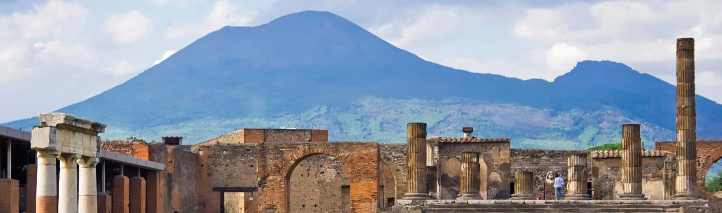 Full Day Pompeii Tour from Rome with Mt. Vesuvius Volcano
