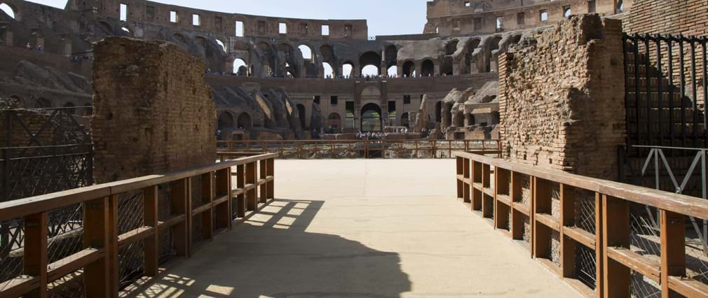 Extended Colosseum Tour with Underground, Arena Floor, & Ancient Rome