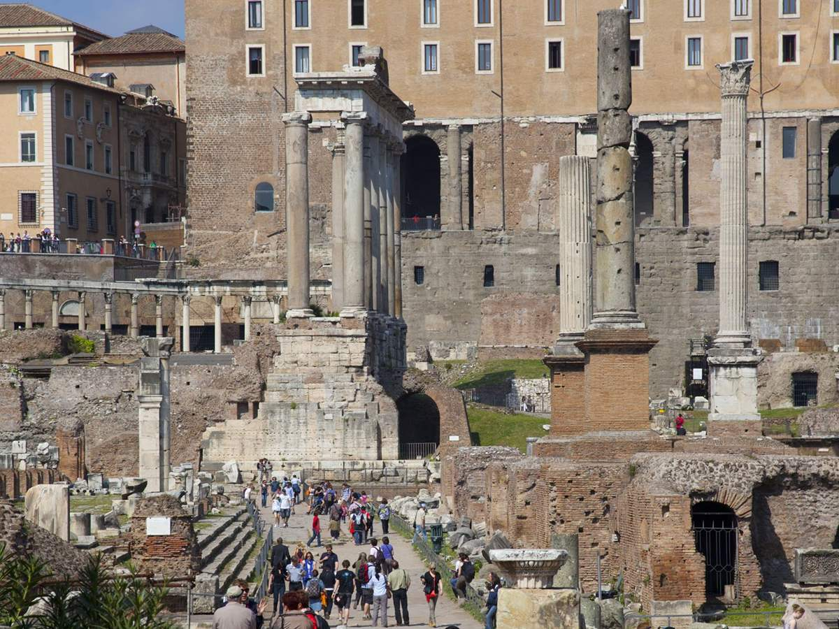 Full Day Colosseum and Best of Rome Tour