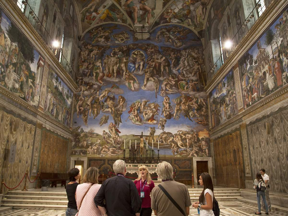 Express Sistine Chapel and Vatican Museums Entrance Tickets
