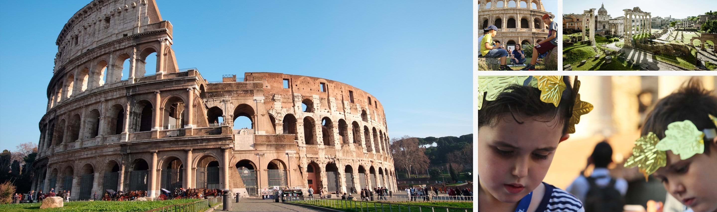 Colosseum for Kids Family Tour