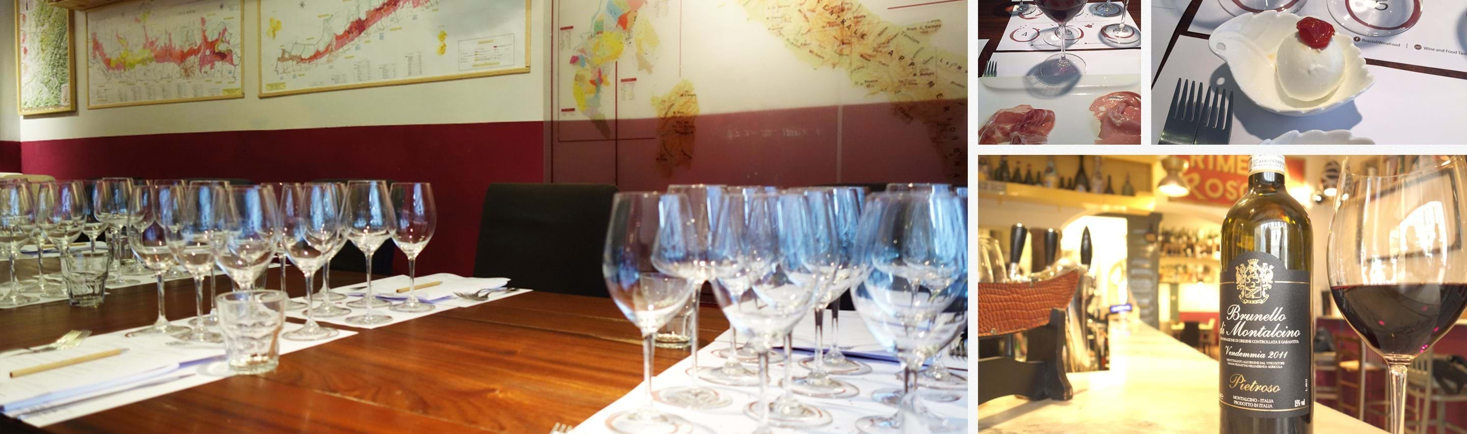Gourmet Wine Tasting and Food Pairing Class