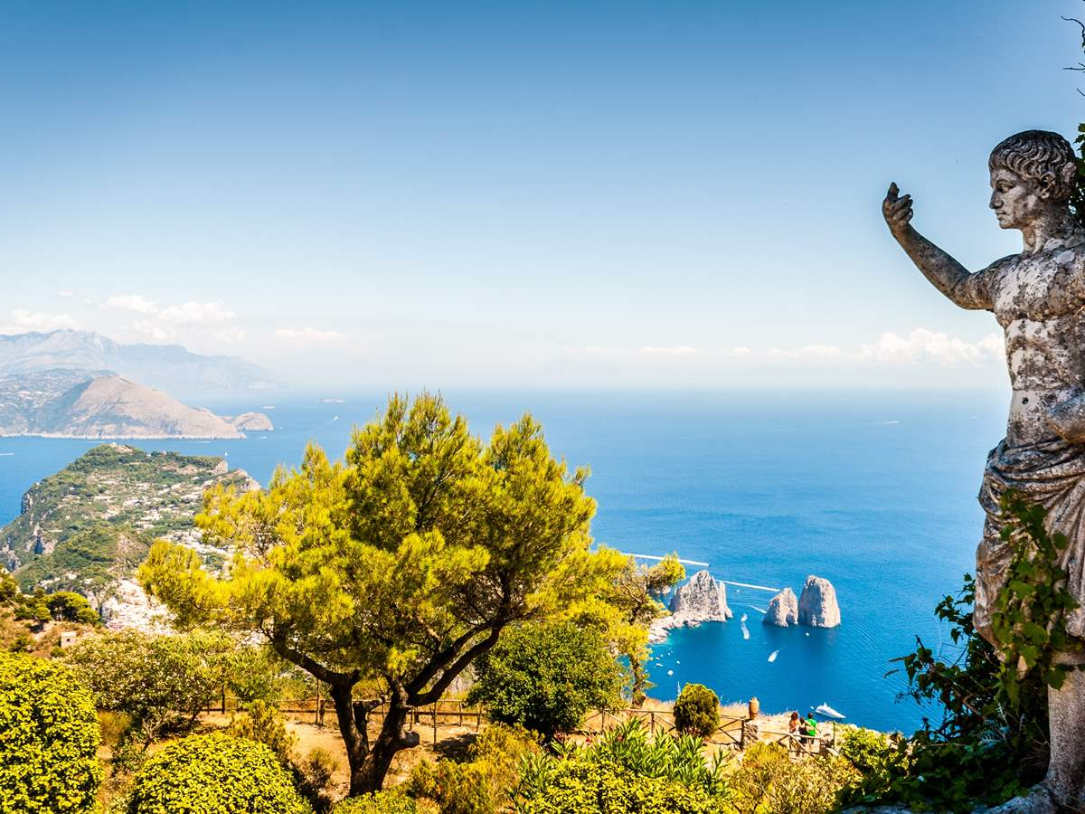VIP Full Day Capri Express Tour from Rome by High Speed Train