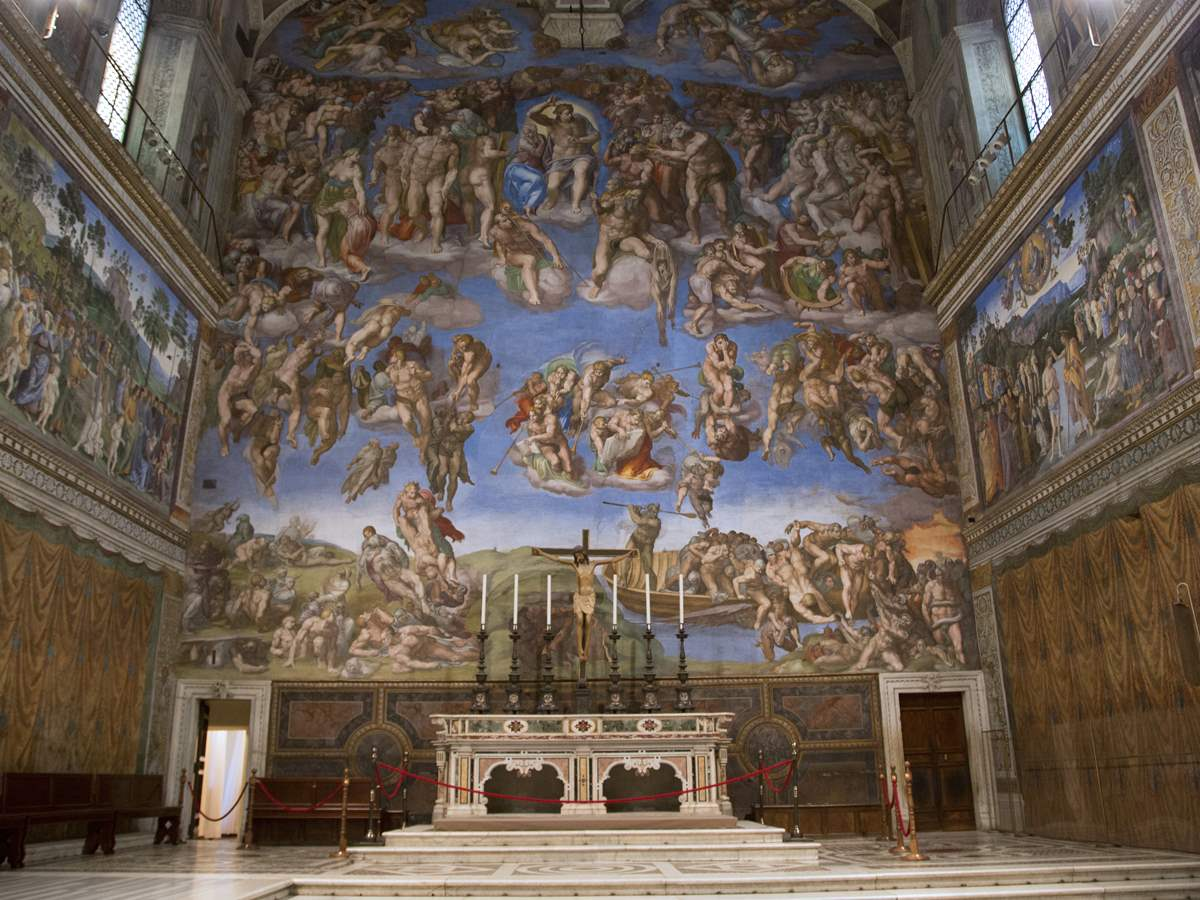 the sistine chapel the building and