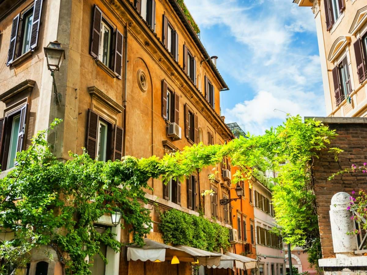 Trastevere stroll with Exclusive Private Dinner