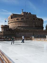 Ice skating at Sant'Angelo